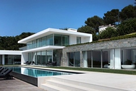 Location Cannes villa contemporaine